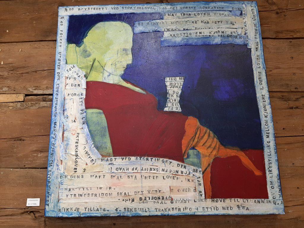 """Bildet """"Ventetid"""" av Anne Jacobsen"""