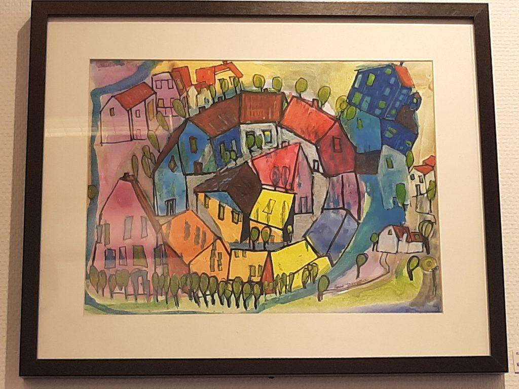 """Bildet """"Indre Sirkel"""" av Anne Jacobsen"""